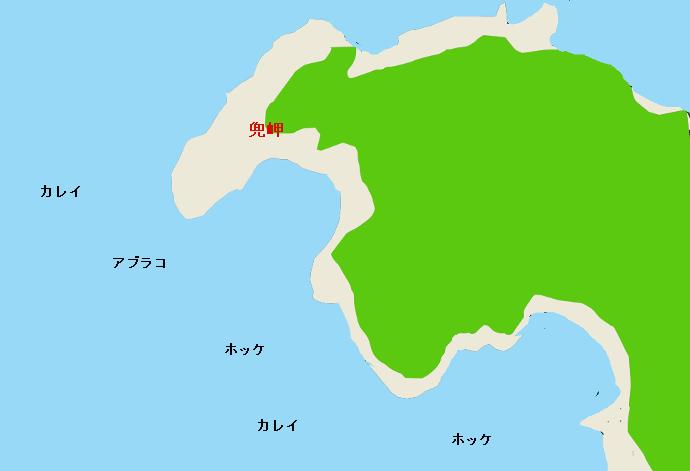 兜岬ポイント図