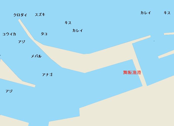 浜名湖舞阪漁港のポイント
