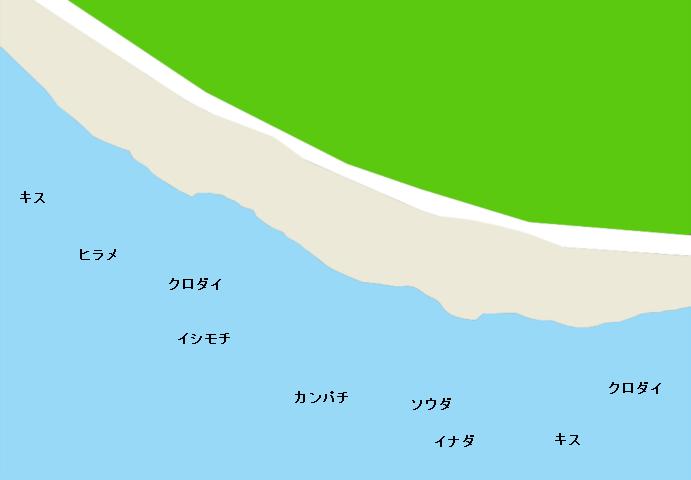 御前崎海岸のポイント