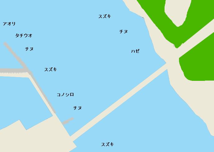 遠賀川河口のポイント