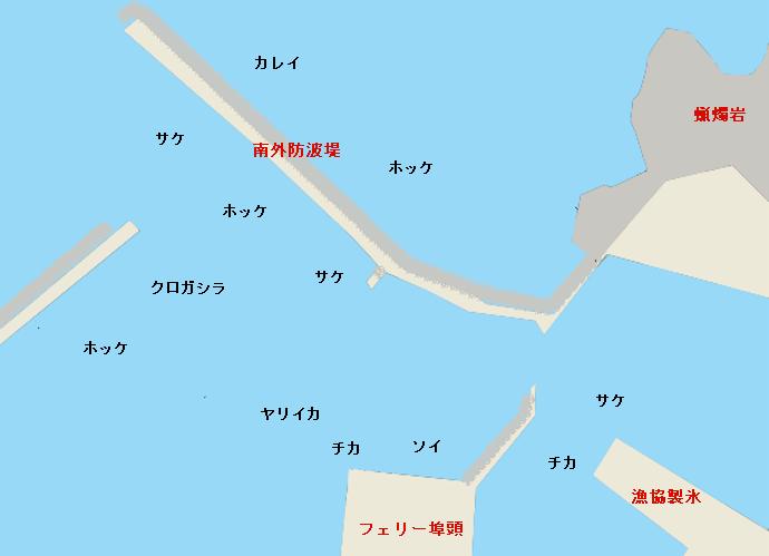 瀬棚港のポイント