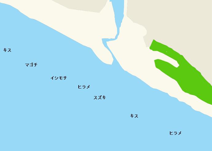 浜岡海岸ポイント図