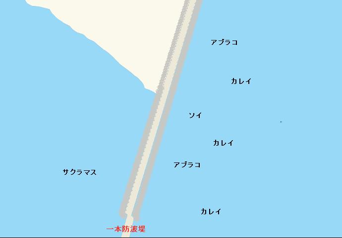苫小牧東港一本防波堤
