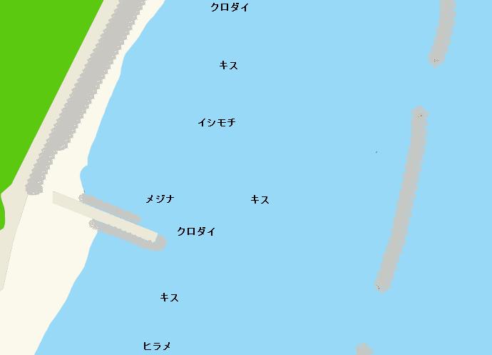 吉永放水門ポイント図