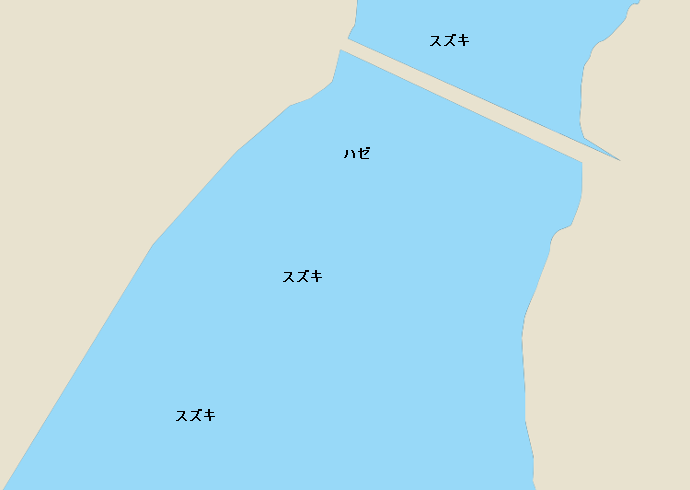 菊池川のポイント