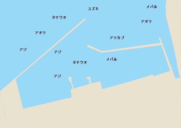 平国漁港のポイント