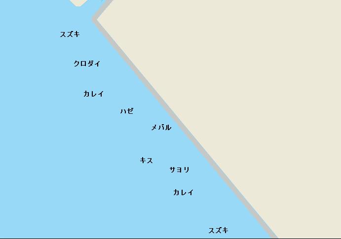 アクアリンク裏ポイント図