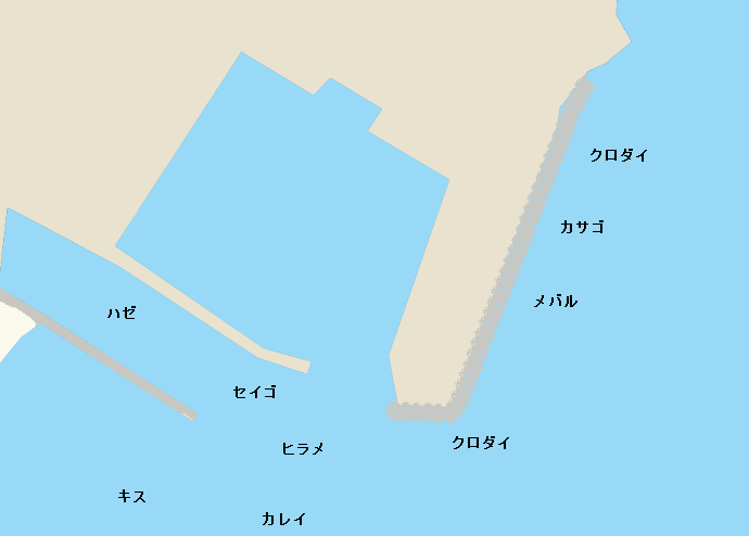 阿尾漁港(氷見)のポイント