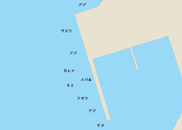 マリーナ萩ポイント図