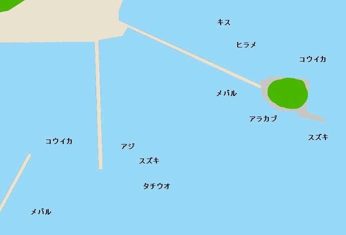 姫戸港のポイント