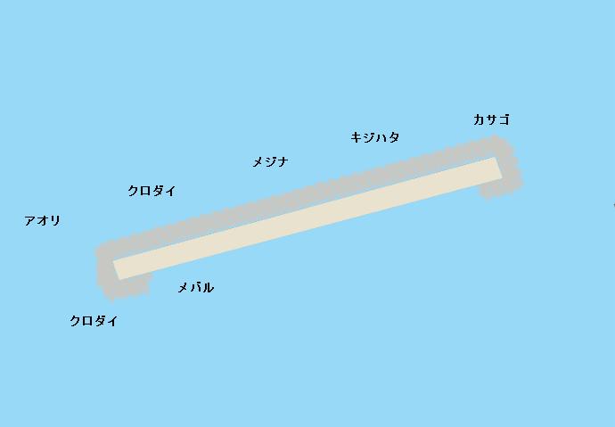 氷見沖一文字ポイント図