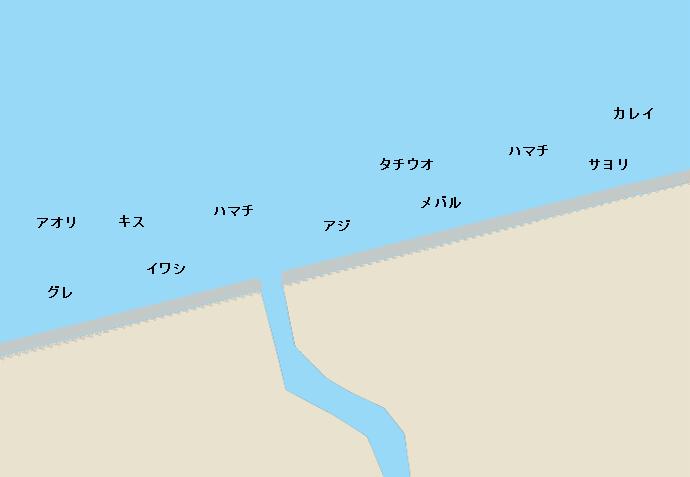 古茂江のポイント