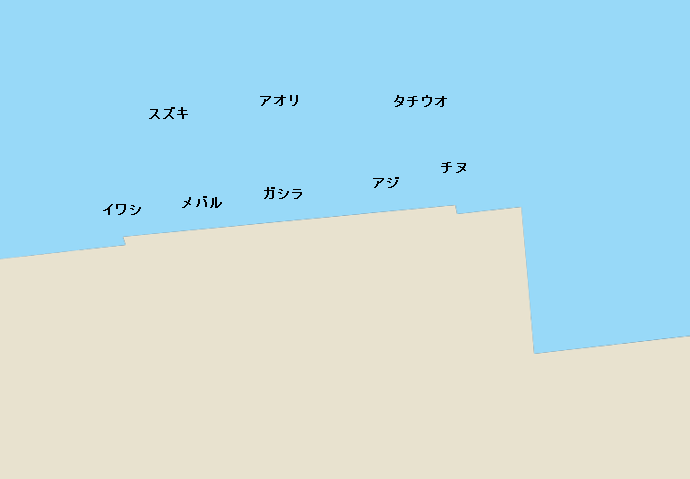 神戸空港ベランダポイント図
