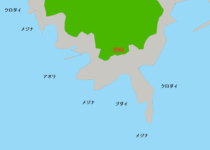 真鶴黒崎のポイント