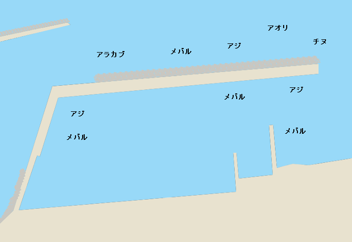 楠港ポイント図