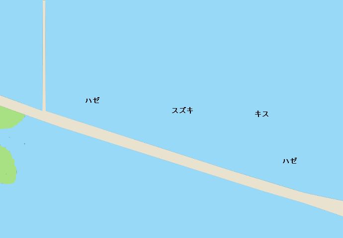 明治橋ポイント図