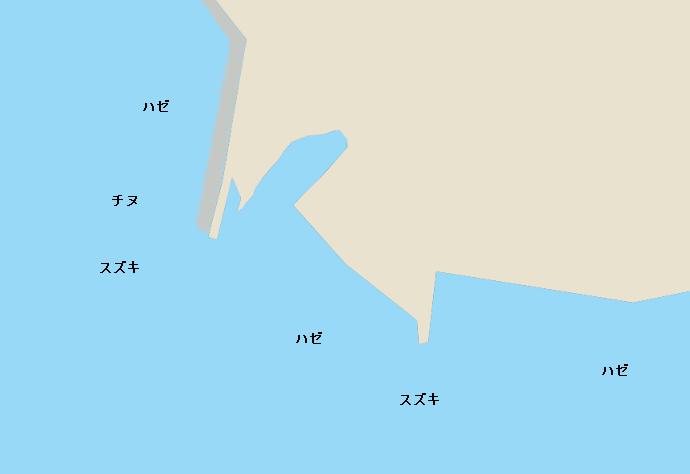緑川河口のポイント