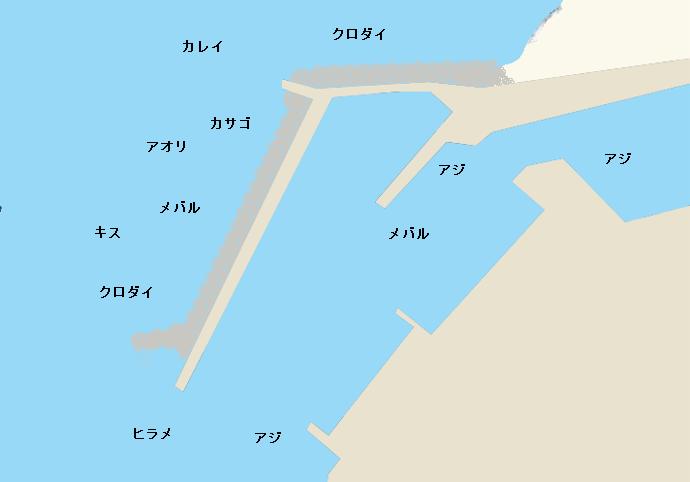 宮崎漁港のポイント