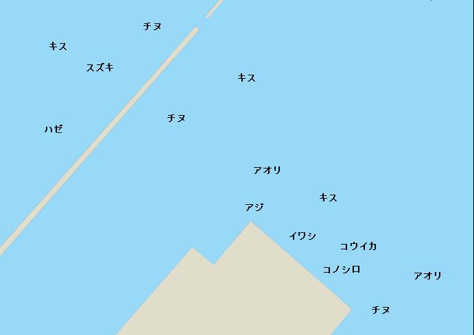 中津港のポイント