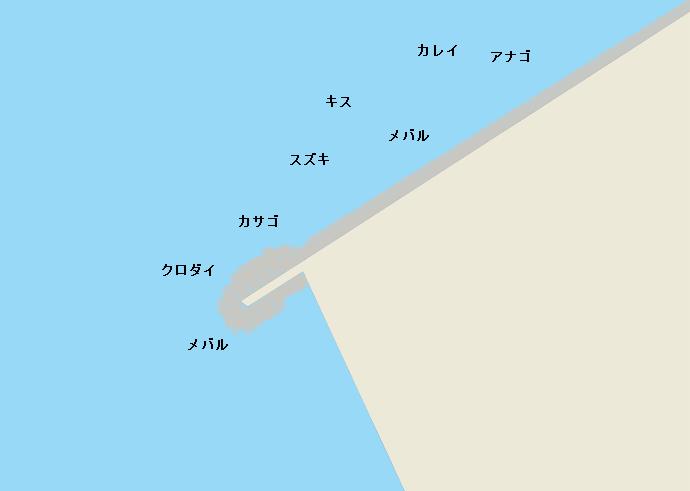 長浦港のポイント
