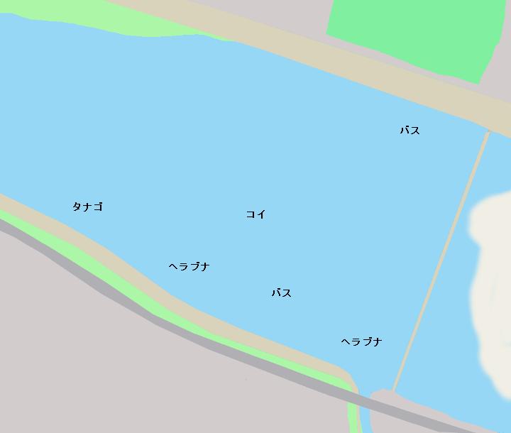 多摩川稲田堤周辺のポイント
