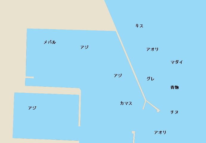 串本港のポイント