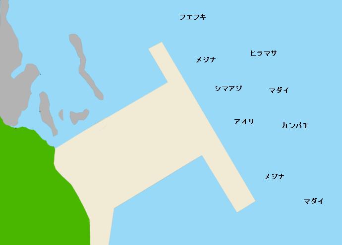 野伏港ポイント図
