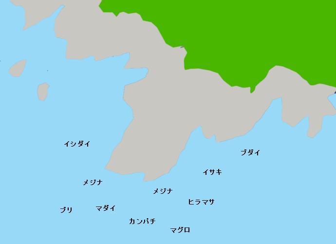 伊豆大島赤岩のポイント