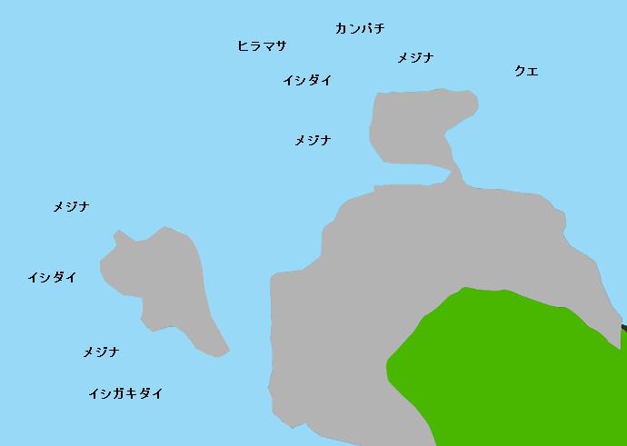 式根島袴ヶ崎のポイント
