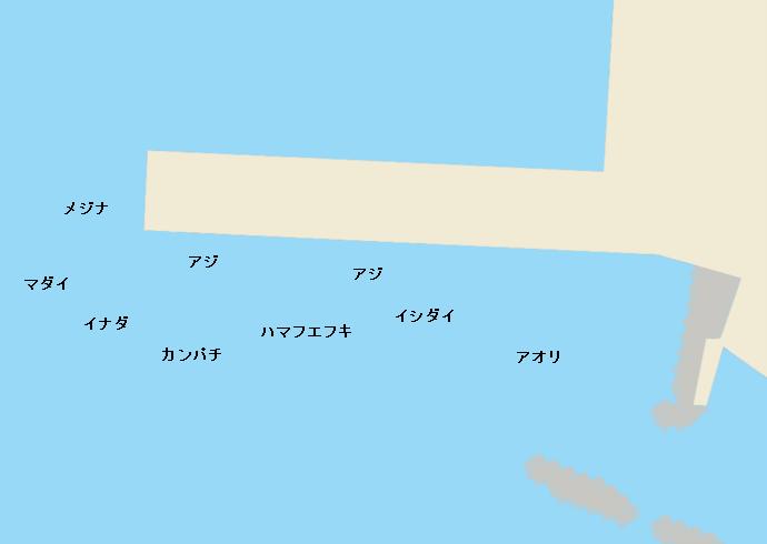 伊豆大島元町港のポイント