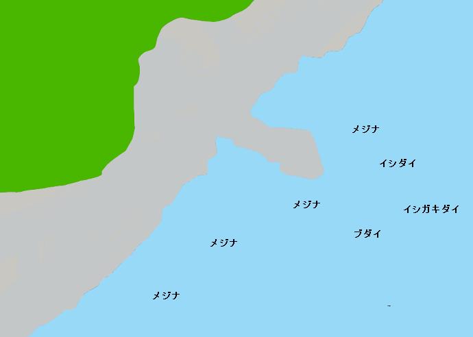 利島ナズカタのポイント