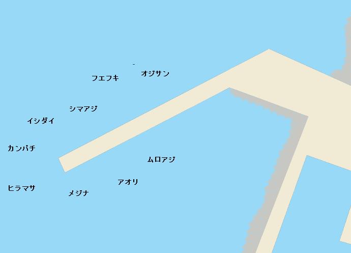 三宅島錆ヶ浜港のポイント
