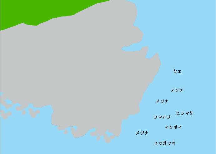 三宅島ツル根岬のポイント