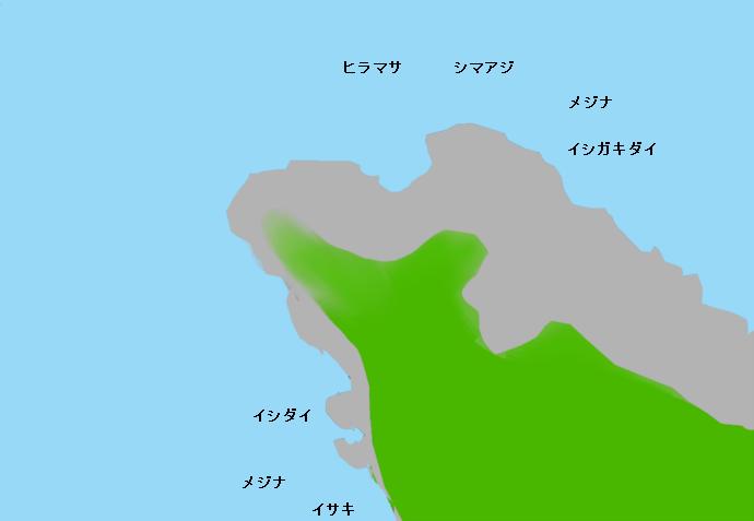 浮根岬のポイント