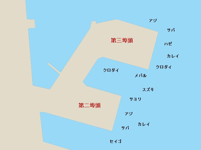 四日市港ポイント図