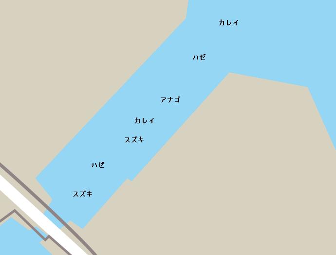 千鳥運河ポイント図