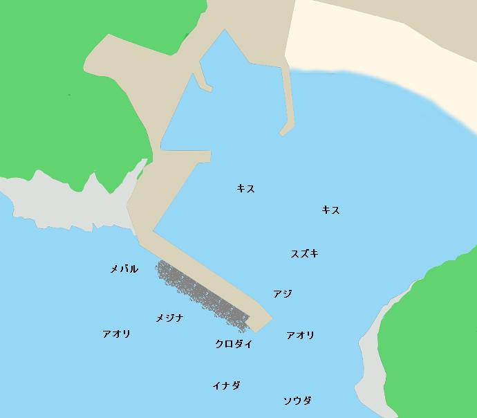 入間港ポイント図