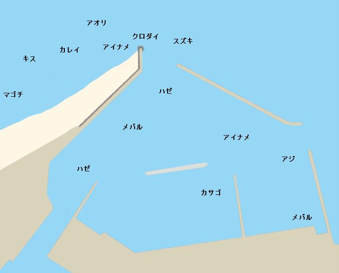 泉港ポイント図