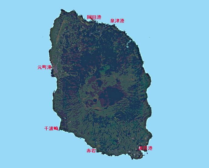 伊豆大島全景
