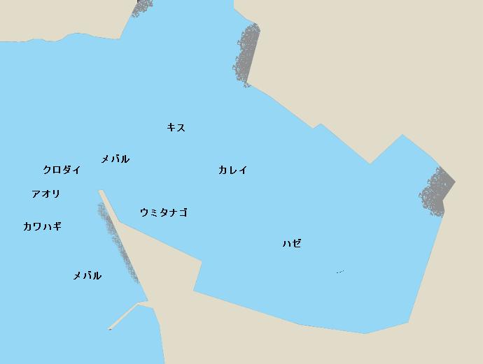海外港ポイント図