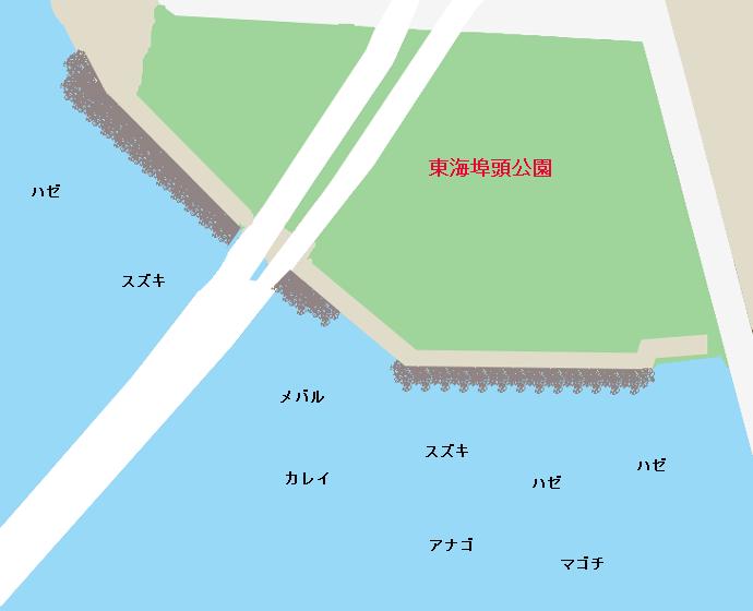 京浜運河東海埠頭公園のポイント