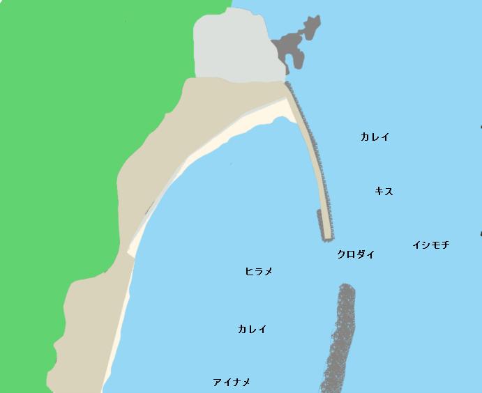 九ノ崎ポイント図