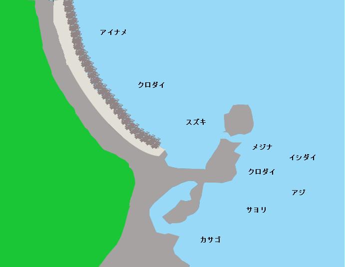 ママ岬ポイント図