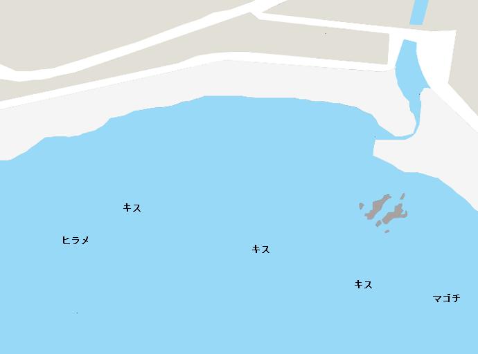 守谷海岸ポイント図