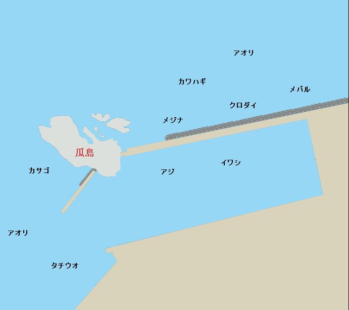 静浦港瓜島周辺のポイント
