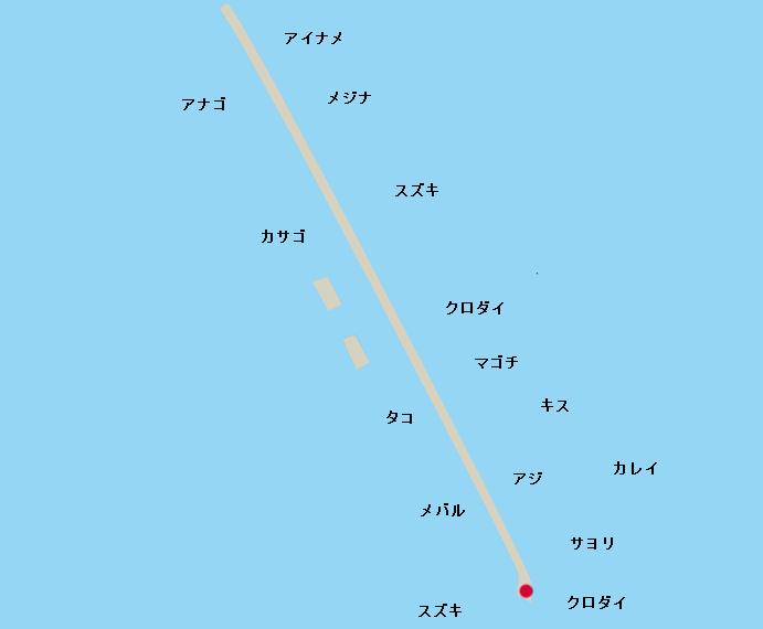 横浜沖堤 旧赤灯
