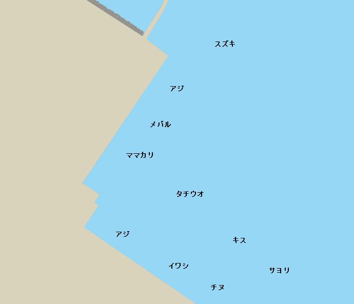 福山港ポイント図