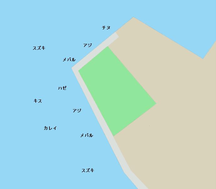 博多埠頭ポイント図