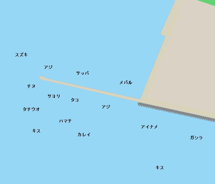 播磨新島ポイント図