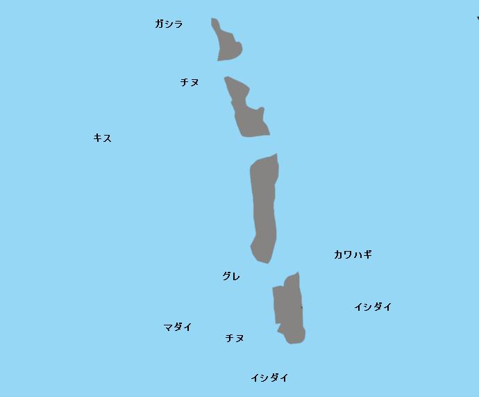 橋杭岩ポイント図